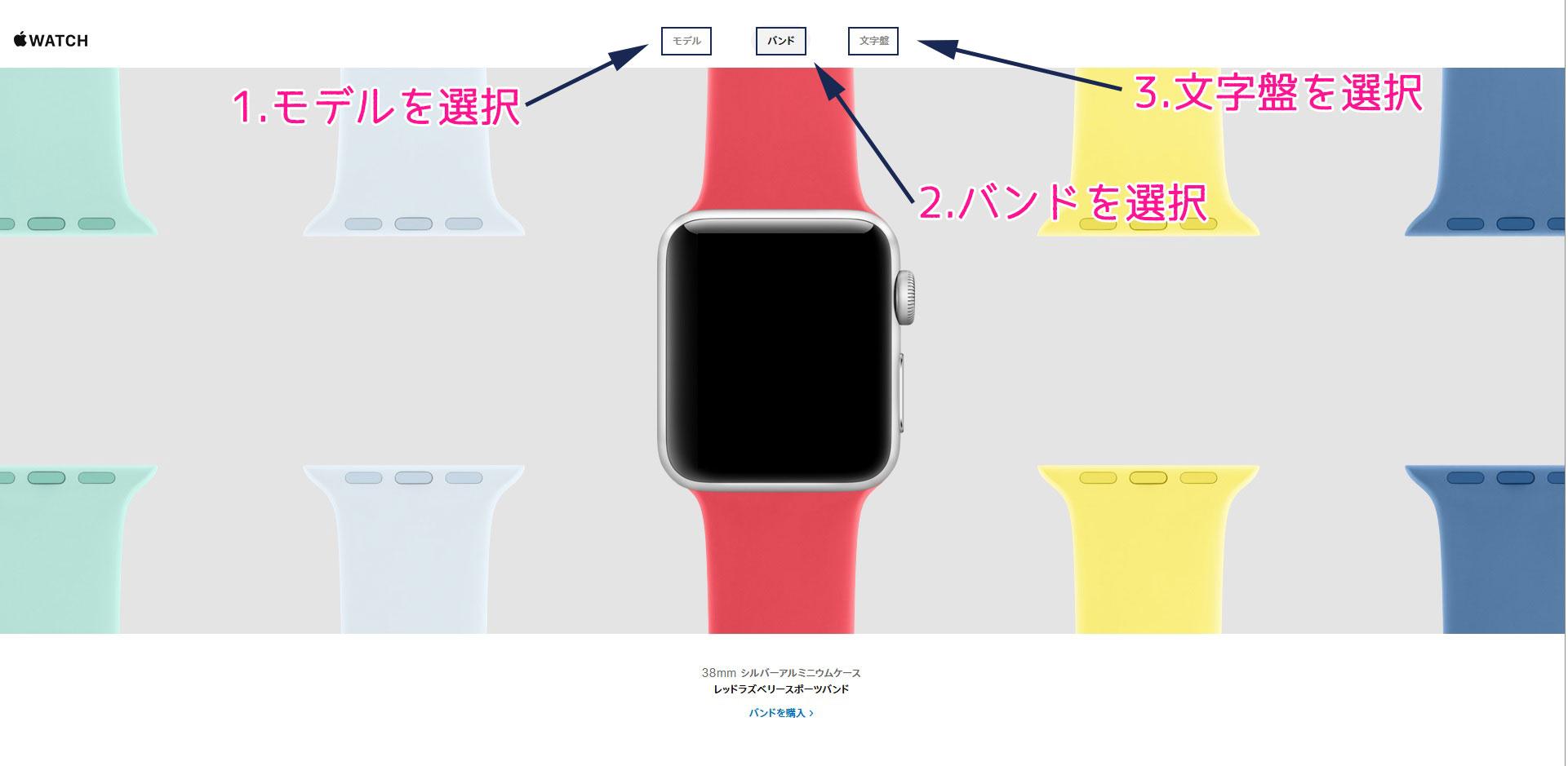 AppleWatch インタラクティブギャラリー