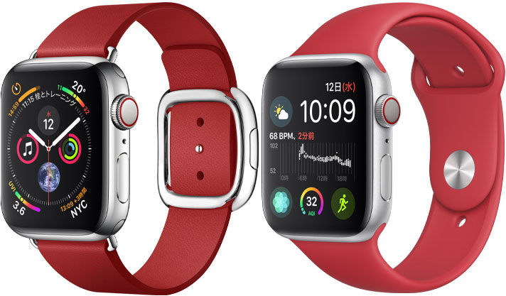 (PRODUCT)RED Apple Watchバンド