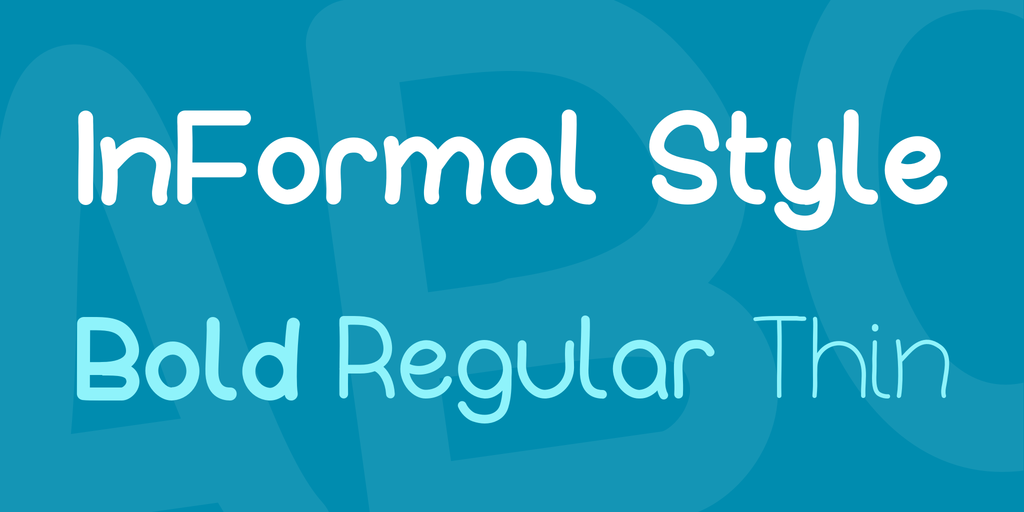 InFormal Style